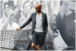 HYDROGEN fashion designer Alberto Bresci,