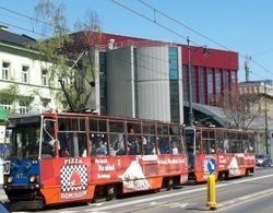 Konstal 105N trams on Lubicz