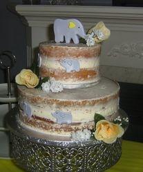 Baby Shower Naked Cake