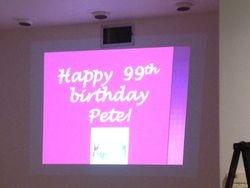 Pete Turns 99!