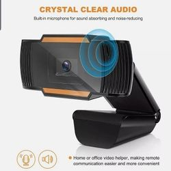 USB 720P HD Webcam Auto Focusing USB Web Camera+Microphone For PC Laptop Desktop