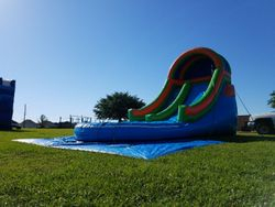 16' Front Load Water Slide 180.00+ tax