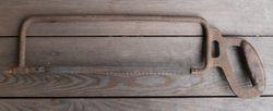 Antikvarinis pjuklelis. Kaina 13
