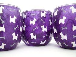 Purple Westie Dogs