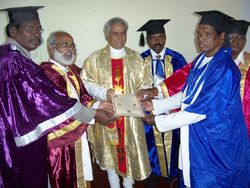 Seminar On Global Peace & Convocation Of AUGP On 21-2-11 At Chennai