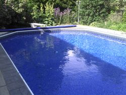 New Berlin Inground Pool Liner After