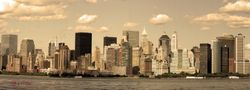 New York (sepia)