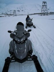 Getting around in the Arctic Circle