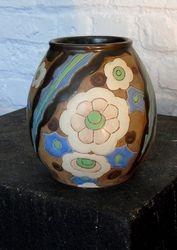 Vase en grès Boch Keramis