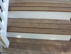 Before Image 4: Close-Up of Stair Treads