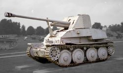 Marder III Mid-Mounted Weapon design: