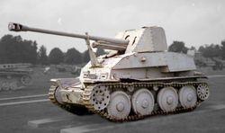 Marder III Mid-Mounted Weapon design: