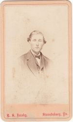 B. S. Jacoby, photographer of Stroudsburg, PA