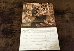 Jack Daniel's Calendar With My Puppies!!!