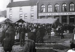 The Market Place. c1890s.