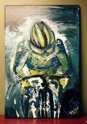 Le cycliste (vendu/Sold)