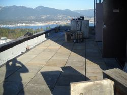 Roof top patio Vancouver