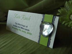 Lime Placecard Front