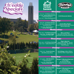 Weekly Specials Summer 2017