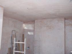 kitchen plastered