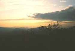 Sunset from Blood Mountain