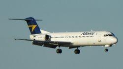 Alliance Fokker 100 VH-XWR