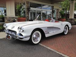 Lou & Marta Romero,1958 Top Flight Corvette