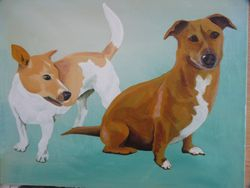 Russell & Lizzie Lou SOLD