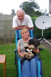 Mike, Diane & Sammy (the dog)!