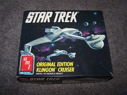 TOS Klingon Cruiser - AMT/ertl