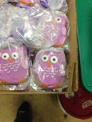 Packaged Owl Cookies