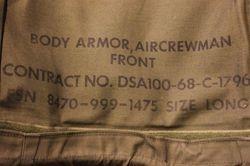 """Air Crew """"Chicken Plate"""" Vest."""