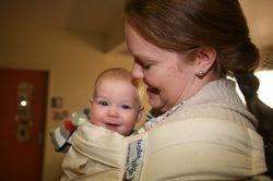 Makayla and baby