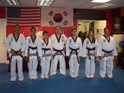 Master Felix Nodarse and his black belt class of 2011