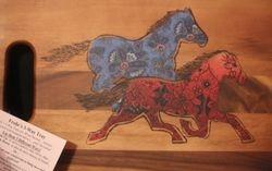 Wild Horses in a 3-Way Tray!
