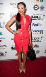 Demetria McKinney attends the NAACP Image Awards Pre-Gala at Vibiana
