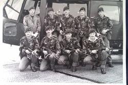 D Coy Absail Team 1982 Aldershot