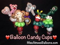 Assorted Candy Cup Party Favors
