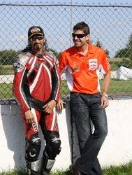 Avec Florian Burguet, KTM