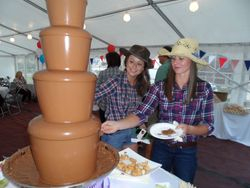 Chocolate fountain hire North Kelsey
