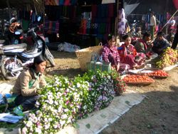 Market Day by Inle Lake