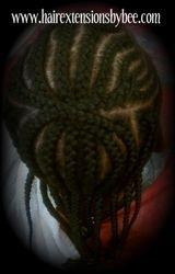 Design spider braids by Bee