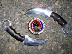 Custom Made 5160 Spring Steel Twin Karambit