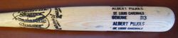 Multi Stamped 2003 Louisville Slugger ALBERT PUJOLS BAT