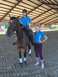 Emily & Kate Wooten - Dressage Clinic