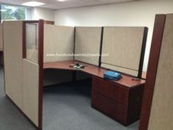 used cubicle assembly service in kensington MD
