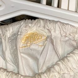 Derek Parker worn 1950s home shorts.