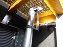 Stromgenerator Atlas Copco QAS 100 Abgasaustritt fixiert