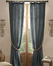 Linen Extra Long Curtain Panels 122