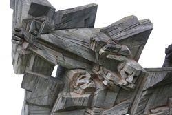 Statue at Ninth Fort, Kaunas